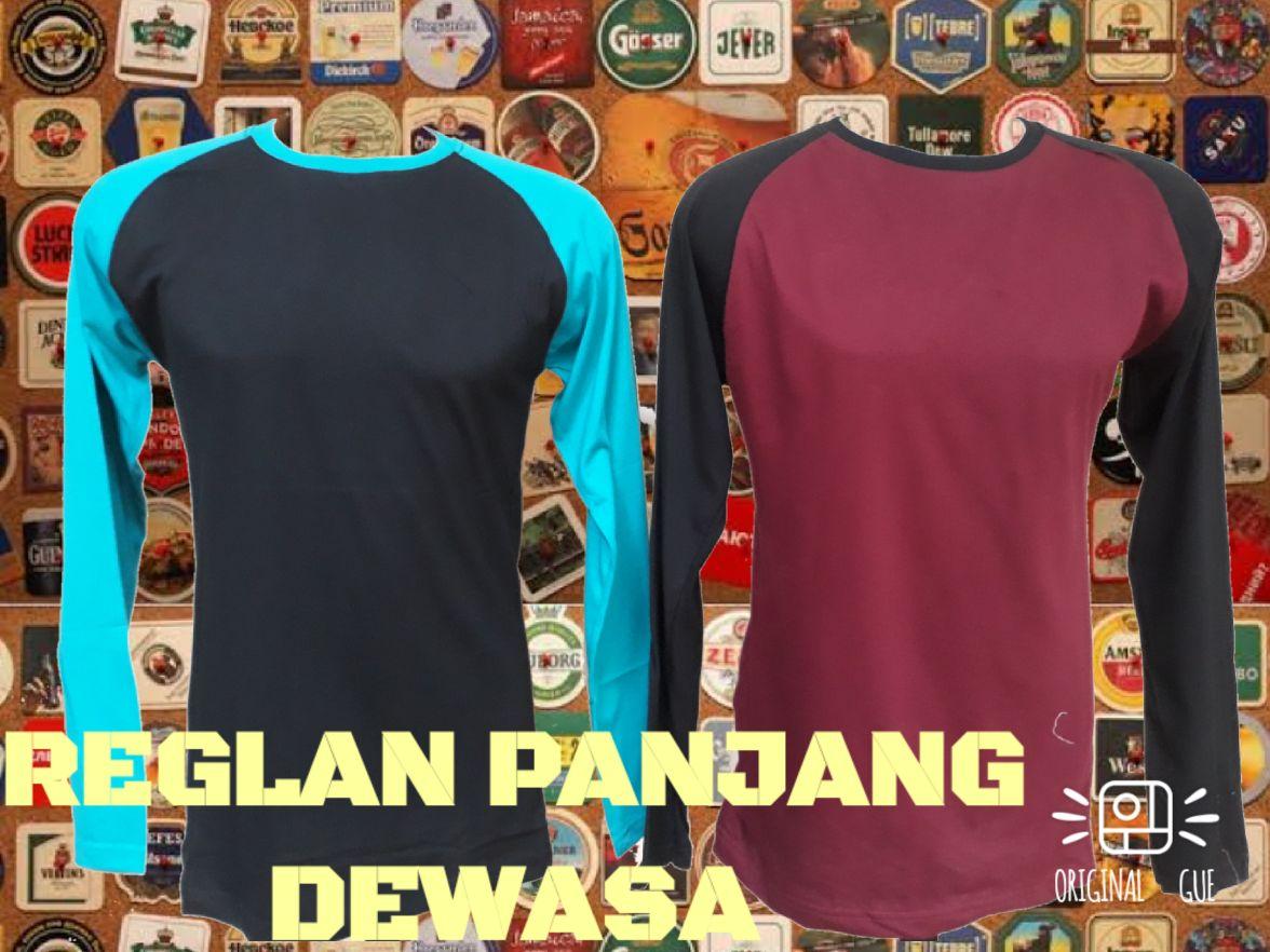 Grosir Baju Distro Bandung Murah Sentra Grosir Kaos Raglan Panjang Dewasa Murah Bandung 32Ribu