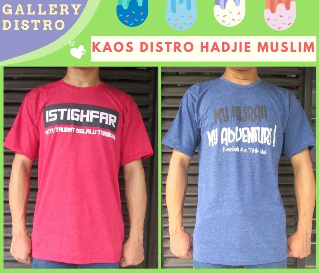 Grosir Baju Distro Bandung Murah Sentra Produsen Kaos Distro Hadjie Muslim Dewasa Murah di Bandung 25Ribu