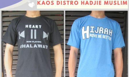 Grosir Baju Distro Cimahi Murah Sentra Produsen Kaos Distro Hadjie Muslim Dewasa Murah di Bandung 25Ribu